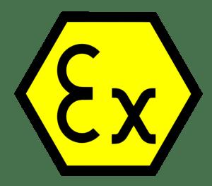 Znak strefy EX