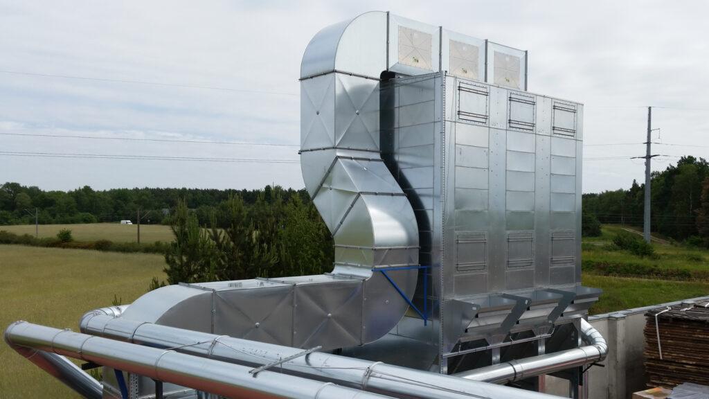 Odpylacz filtracyjny do odpylania stolarni w wykonaniu atex